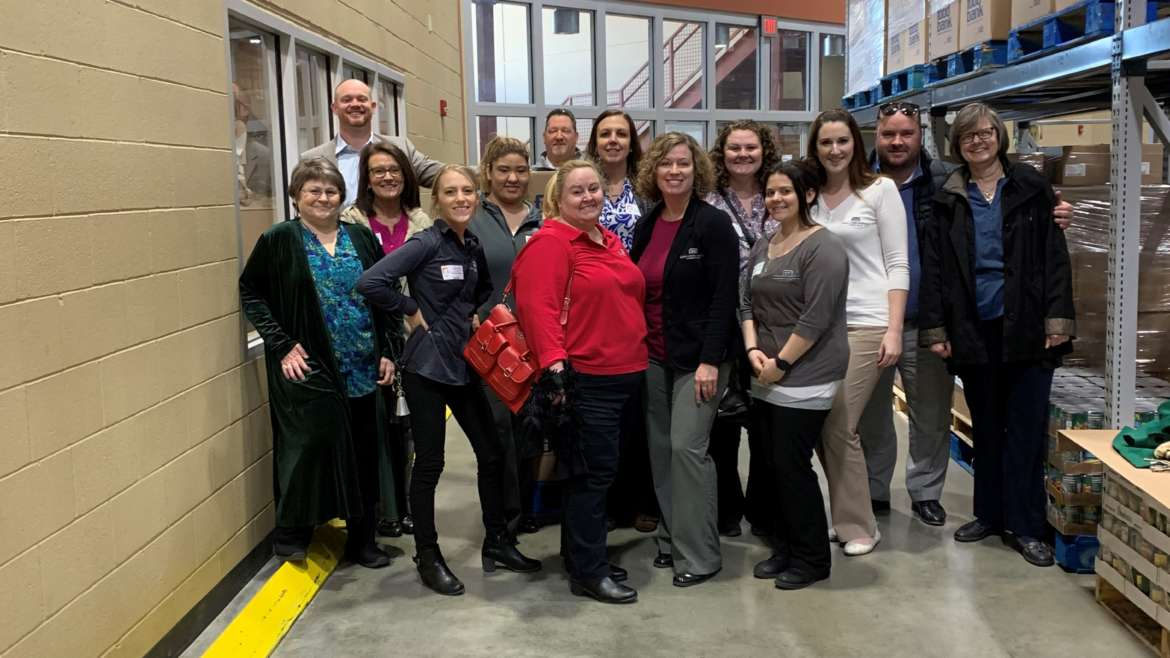 Attorneys & Staff at Kansas Food Bank Warehouse