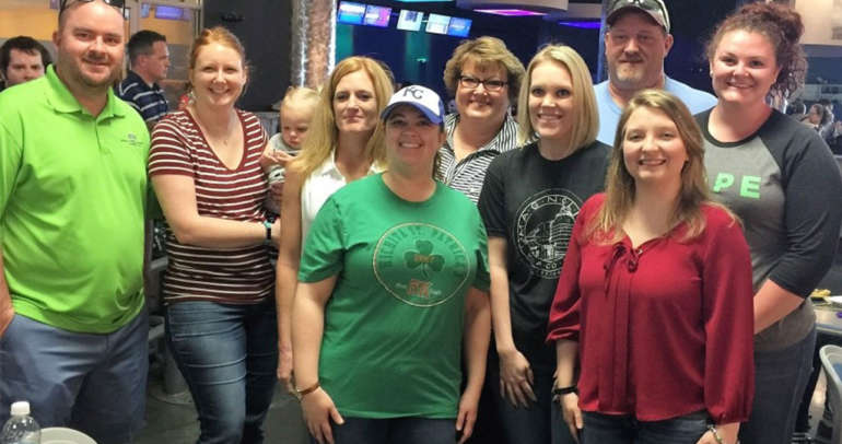 2017 Law Firm Bowl for Big Brothers and Big Sisters of Kansas.
